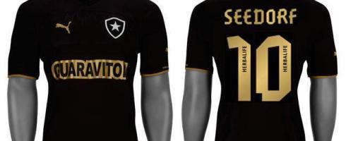 Definido  Seedorf usará a camisa 10 do Botafogo (compre já a sua alvinegro) 4f84ccef5b43c